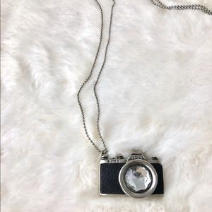 Nomad life vintage camera ball chain necklace